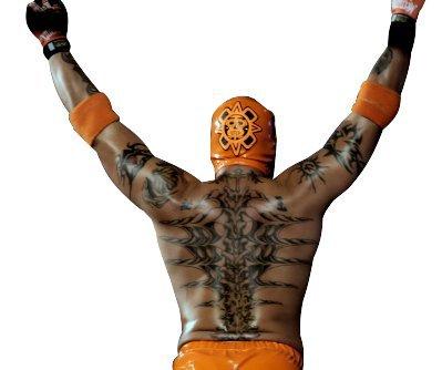 Les tattoo de Rey Mysterio - CATCH 4 EVER